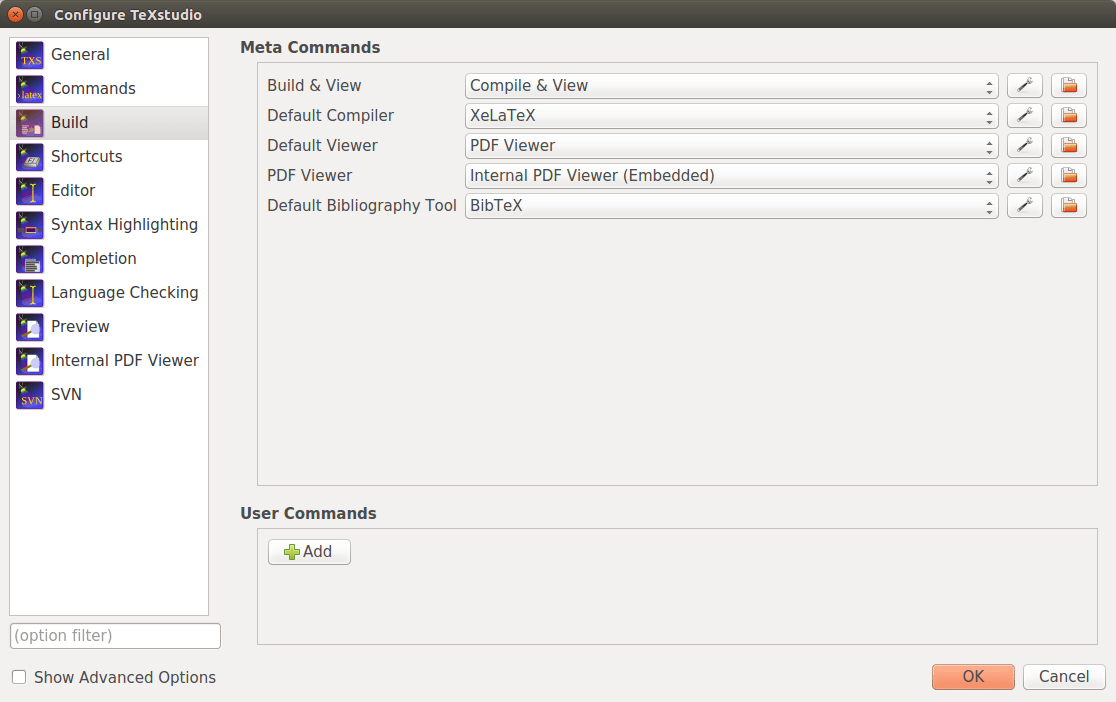 TeXLive + TeXstudio 配置与使用